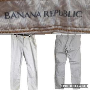 Banana republic | mid rise skinny ankle jean